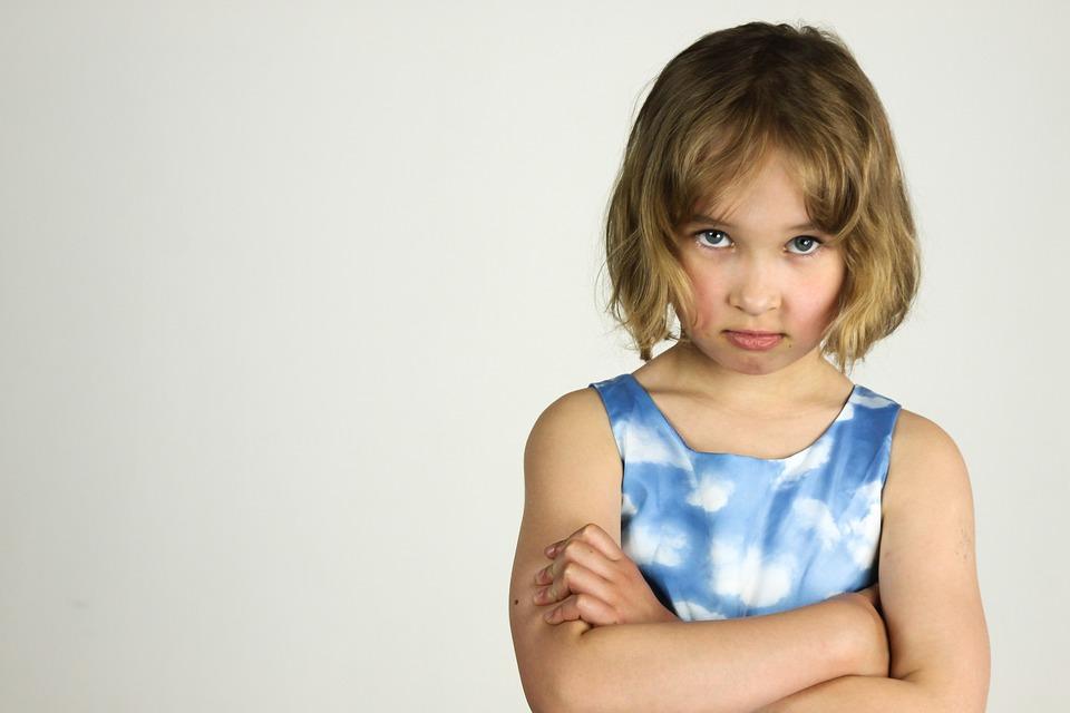 dziecięce wybuchy złości